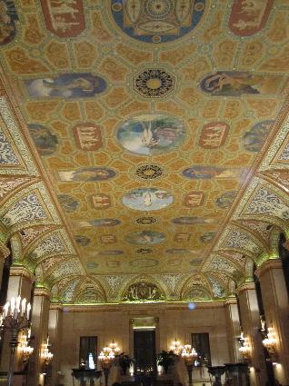 Palmer House Grand Lobby Ceiling