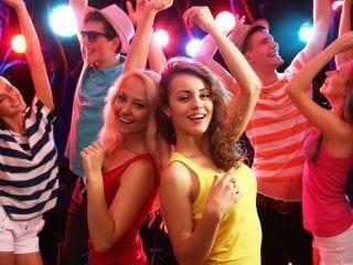 Black Tie Productions School dance - dance floor