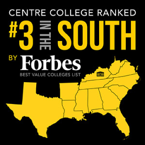 Centre College Ranked #3 Forbes