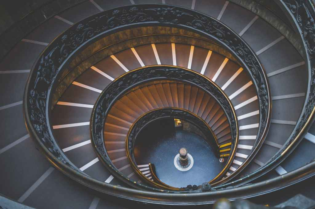 empty spiral staircase