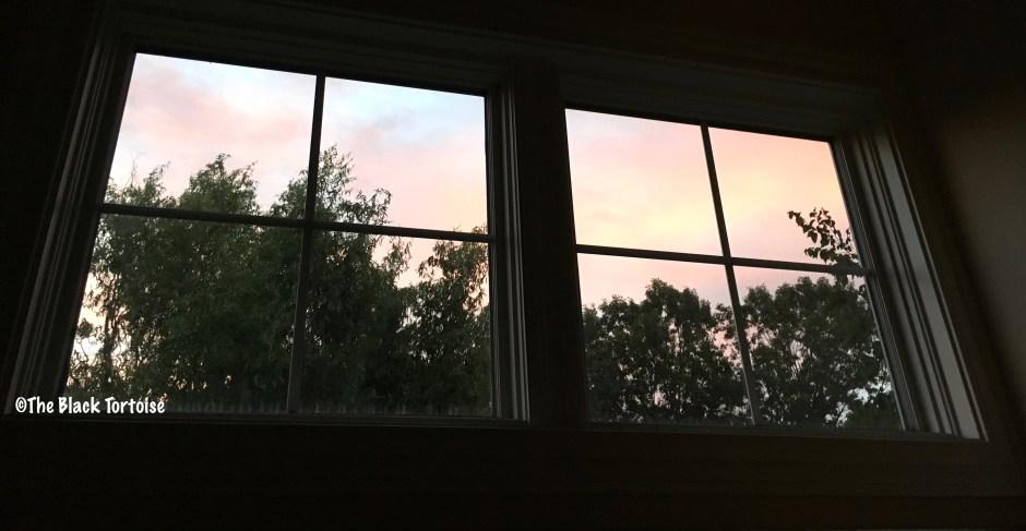 red sky in morning - 4