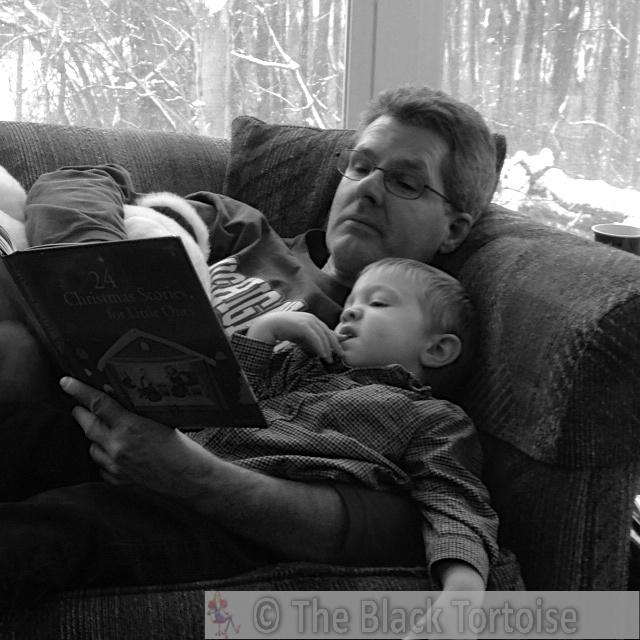 John & Jude at Crandell Christmas, 2013 (Allison & Jesse's house