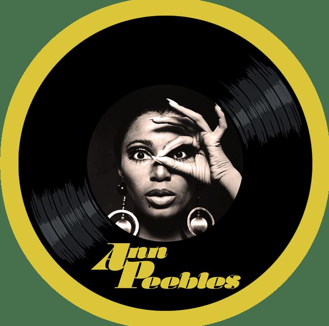 Black to the Music - Ann Peebles - logo header