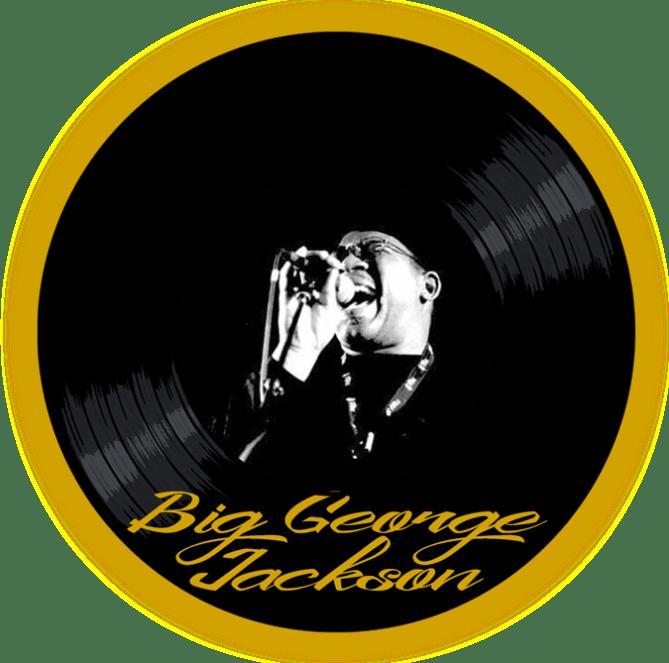 Black to the Music - Big George Jackson - logo header