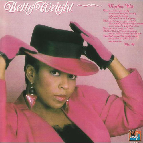 Black to the Music - Betty Wright - Lp 1987