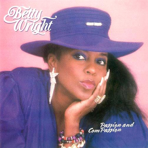 Black to the Music - Betty Wright - Lp 1990