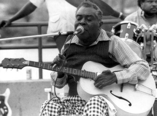 Black to the Music - Cedell Davis 02