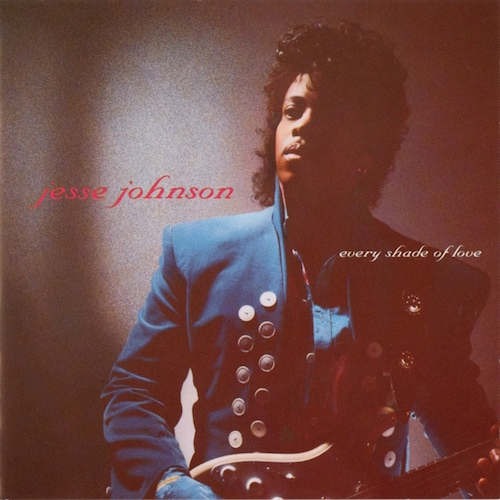 Black to the Music - Jesse Johnson - Lp 1988 Every Shade Of Love