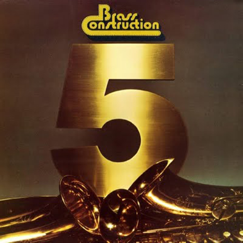 Black to the Music - The Brass Construction - LP 1979 - V