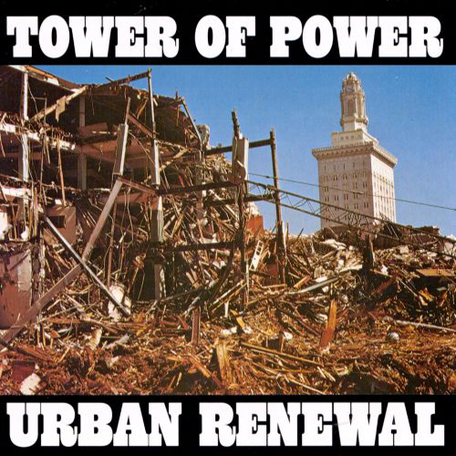 Black to the Music - Tower Of Power 1974 Urban Renewel