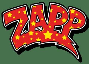 Black to the Music - logo Zapp