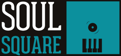 Black to the Music - Soul Square - logo vert