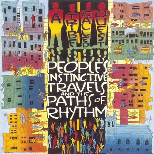 Black to the Music - ATCQ - 1990 Peoples' Instinctive Travels & the Paths of Rhythm