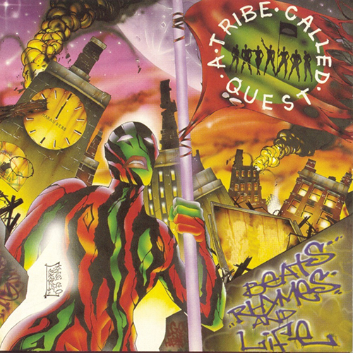 Black to the Music - ATCQ - 1996 Beats, Rhymes & Life