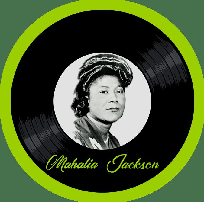 Black to the Music - Mahalia Jackson - logo header