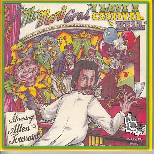 Black to the Music - Allen Toussaint - 1987 - Mr. Mardi Gras (I Love A Carnival Ball)