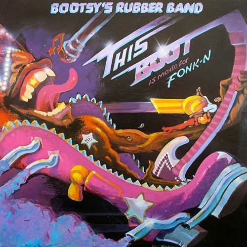 Black to the Music - Bootsy Collins - 1979 - This Boot Is Made For Fonk-n