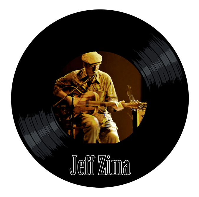 Black to the Music - Jeff Zima - logo header