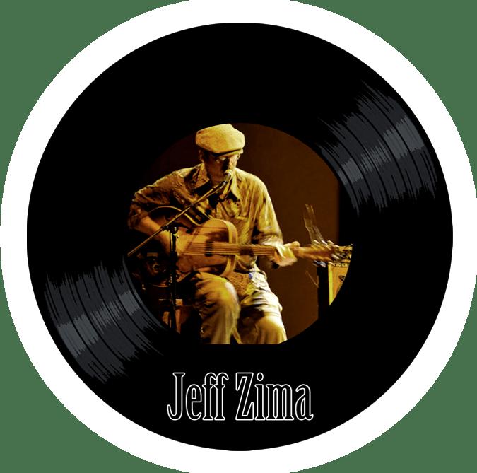 Black to the Music - Jeff Zima - logo header