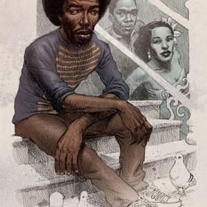 Black to the Music - 09 Gil Scott-Heron - Lady Day And John Coltrane – illustration by Dan Lish