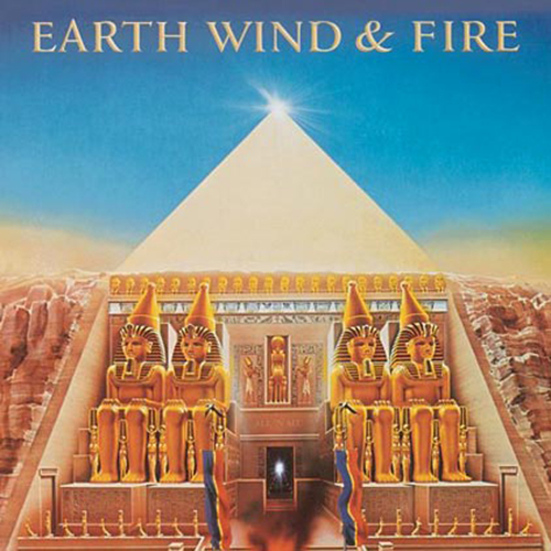 Black to the Music - EWF - Lp 1977 - ALL 'N ALL
