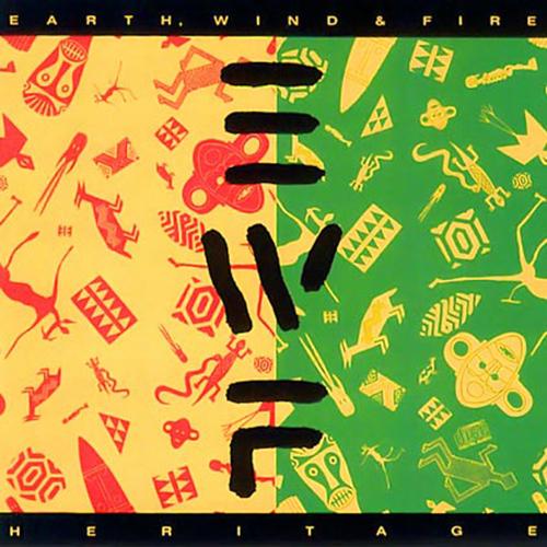 Black to the Music - EWF - Lp 1990 - HERITAGE