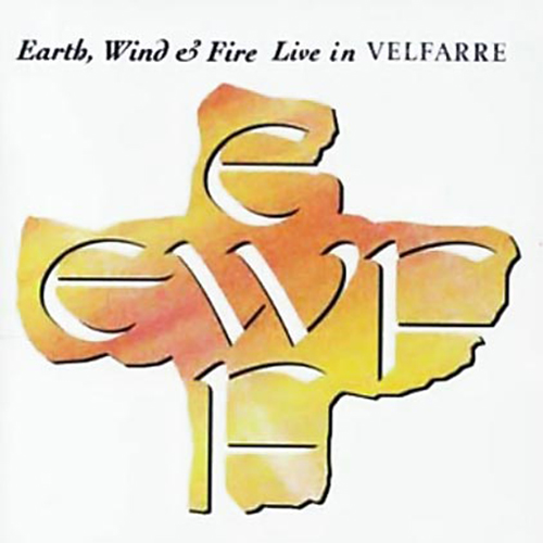 Black to the Music - EWF - Lp 1995 - LIVE IN VELFARRE