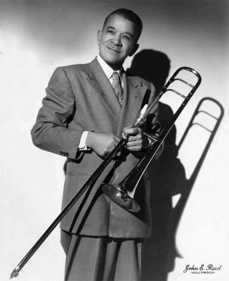 Black to the Music - Louis Armstrong - 05 Kid Ory (c) John E Reed