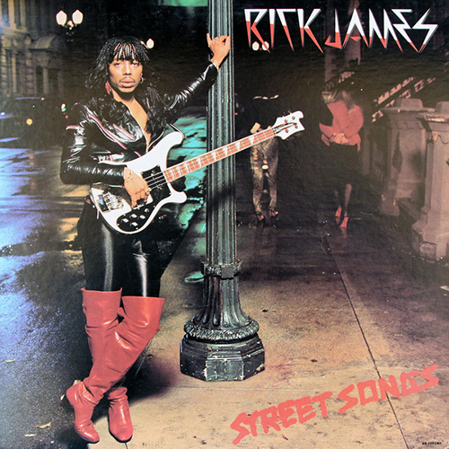 Black to the Music - Rick James - 1981 - Street Songs