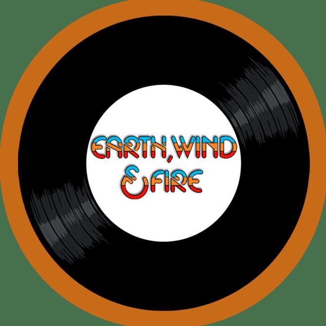 Black to the Music - EWF - logo header