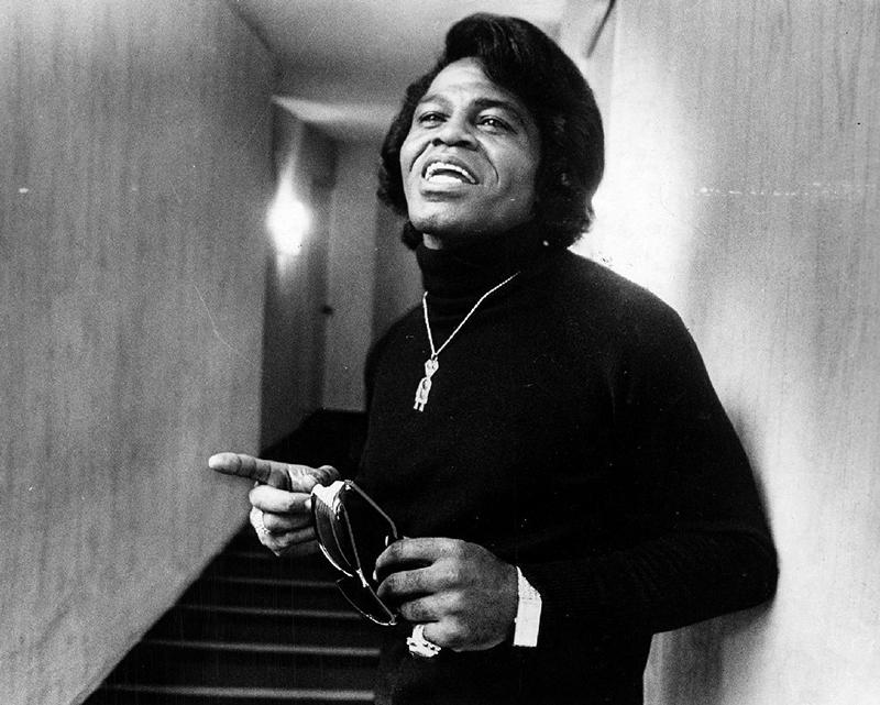 Black to the Music - James Brown B6 - at the Washington Hilton in 1980 - (c) Lucian Perkins, Washington Post