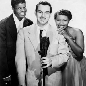 Black to the Music - Johnny Otis - 03 Johnny Otis with Mel Walker and Esther Phillips.Credit...James J. Kriegsmann, via Billy Vera Collection