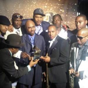 Black to the Music - Rebirth Brass Band - 06 Grammy 2012 - (c) Howie Kaplan