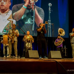 Rebirth Brass Band live at The Chicago Jazz Festival