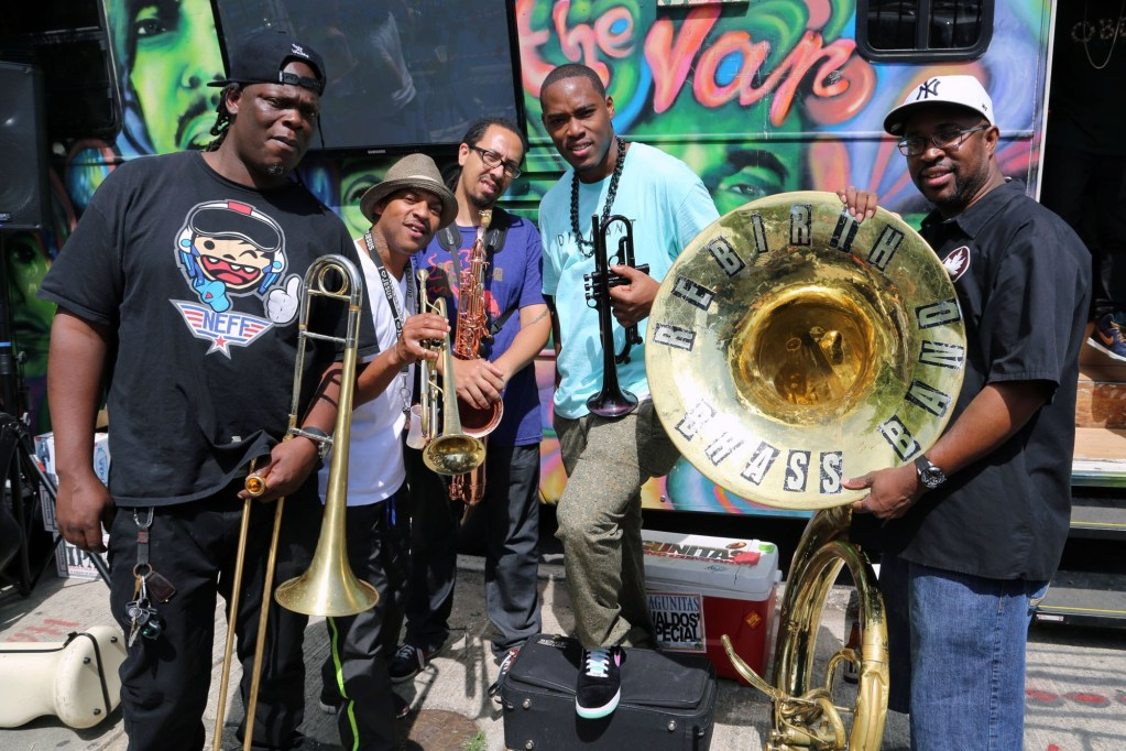 Black to the Music - Rebirth Brass Band - G16