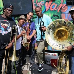 Black to the Music - Rebirth Brass Band - G16