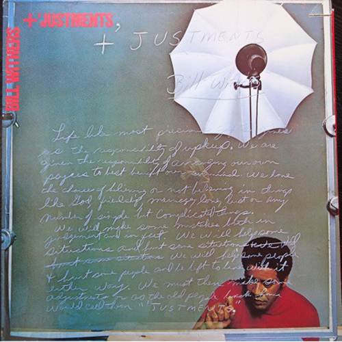 Black to the Music - Bill Withers - 1974 +'Justments