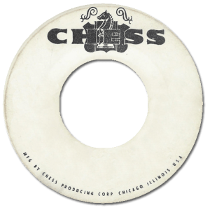 Black to the Music - 45t logo Chess Records 02