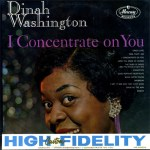 Black to the Music - Dinah Washington - 1960 I Concentrate on You