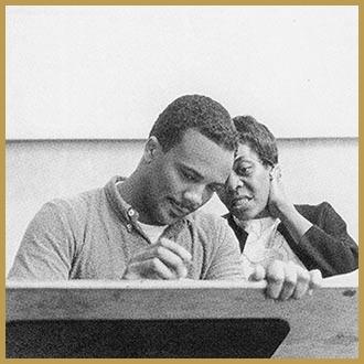 Black to the Music - Dinah Washington and Quincy Jones