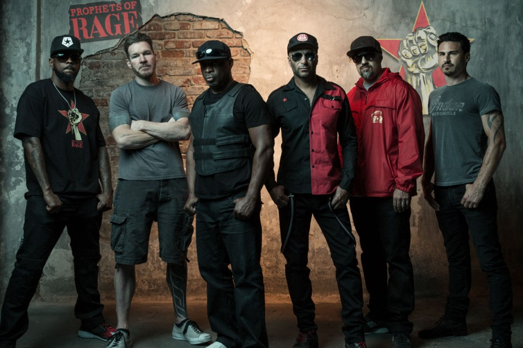 Black To The Music - Prophets Of Rage