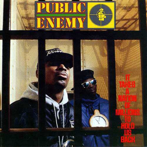 Black to the Music - Public Enemy 1988 It Takes A Nation Of Millions To Hold Us Back