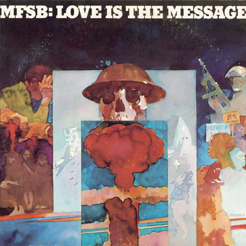 Black to the Music - 1976 MFSB - Love The Message