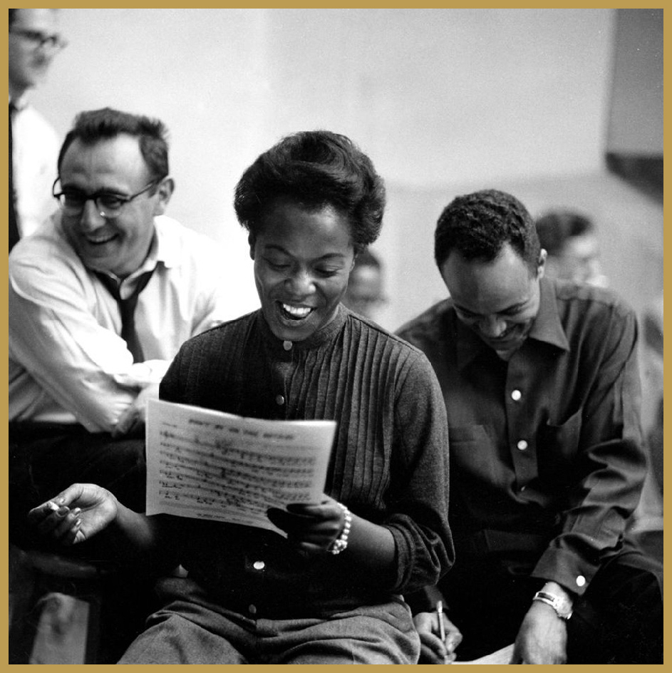 Black to the Music - 1950 Sarah Vaughan & Bobby Shad, Quincy Jones right back NYC