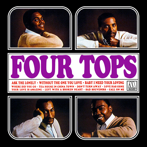 Black to the Music - The Four Tops - LP 01-1964 Four Tops