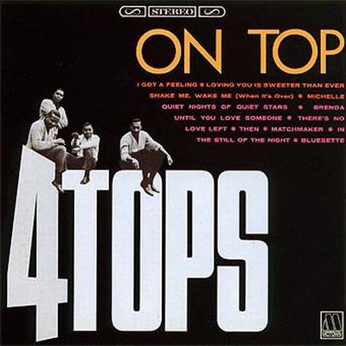 Black to the Music - The Four Tops - LP 04-1966 On Top