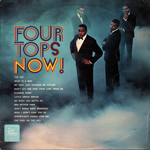 Black to the Music - The Four Tops - LP 08-1969 Four Tops Now