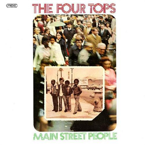 Black to the Music - The Four Tops - LP 17-1973 Main Street People