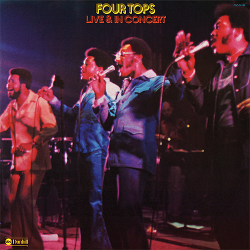 Black to the Music - The Four Tops - LP 19-1974 Live & In Concert
