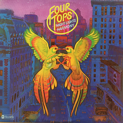 Black to the Music - The Four Tops - LP 20-1975 Nights Lights Harmony